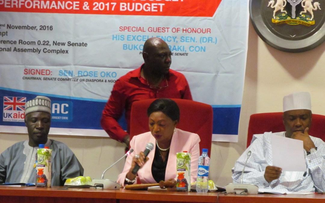 CSOs Seek Collaboration with National Assembly on Budget Matters. By Olusegun Olagunju