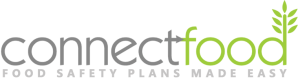 ConnectFood Logo with Tagline