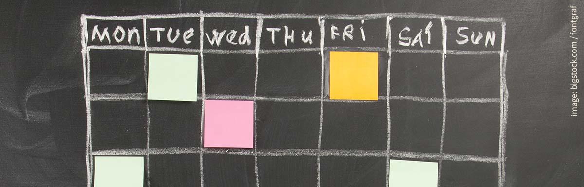 Communications Calendar Templates