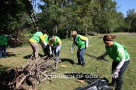 world mission society church of god in middletown, wmscog connecticut, veterans memorial park cleanup, environmental protection, east coast volunteer service day 2016