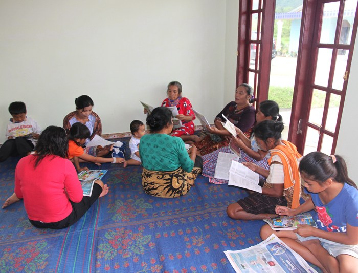 Kartini Day Celebration in our Toba Library – Celebrating Women Education in Indonesia