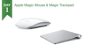 Buy Apple Magic Mouse or Magic Trackpad for $69.99, get a $25 Connecting Point Gift Card