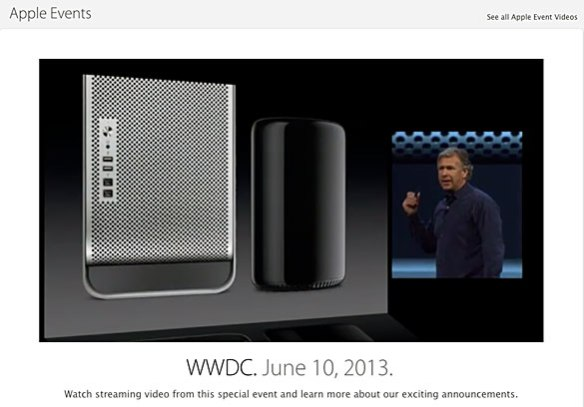 VIDEO: Watch this morning's Apple WWDC keynote in its