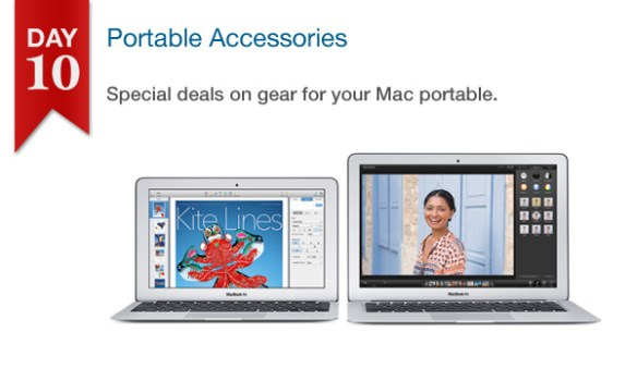 Connecting Point's '12 Days of Savings 2013' Day 10: - 25% Off Select Mac Portable Accessories