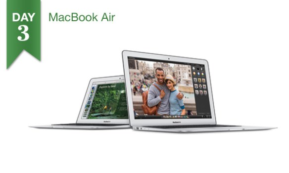 "Connecting Point's '12 Days of Savings 2013"" - Day 3: $100 Off 13"" MacBook Air"