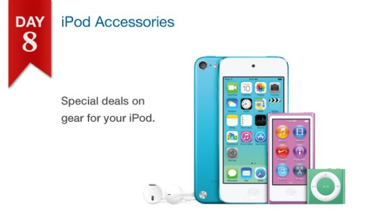 "Connecting Point's '12 Days of Savings 2013"" Day 8 - 25% off select iPod accessories"