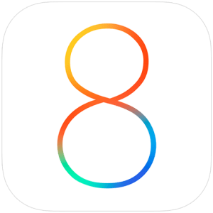Apple iOS 8 logo