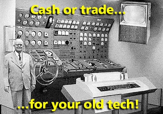Connecting Point cash or trade for old tech Medford OR