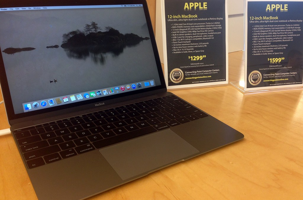 NEW ARRIVAL: Apple MacBook 12-inch, now in stock at both stores…and it's a beauty.