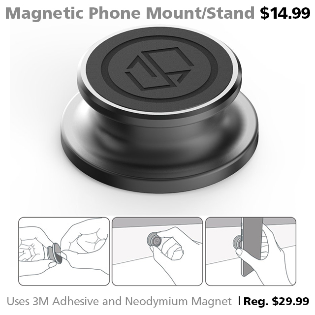 DOTW Deal of the Week Magnetic Phone Mount Grip Stand Connecting Point Medford Oregon