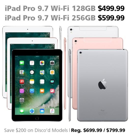 DOTW iPad Pro 9.7-inch Wi-Fi 128GB 256GB