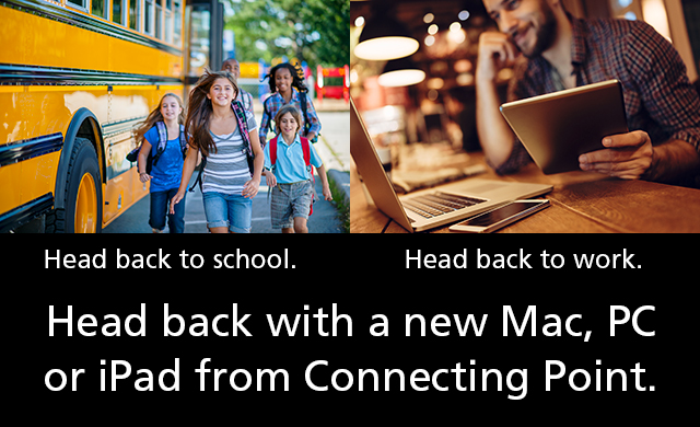 Back to school, back to work: It's the HEAD BACK SALE, Aug. 24-31!