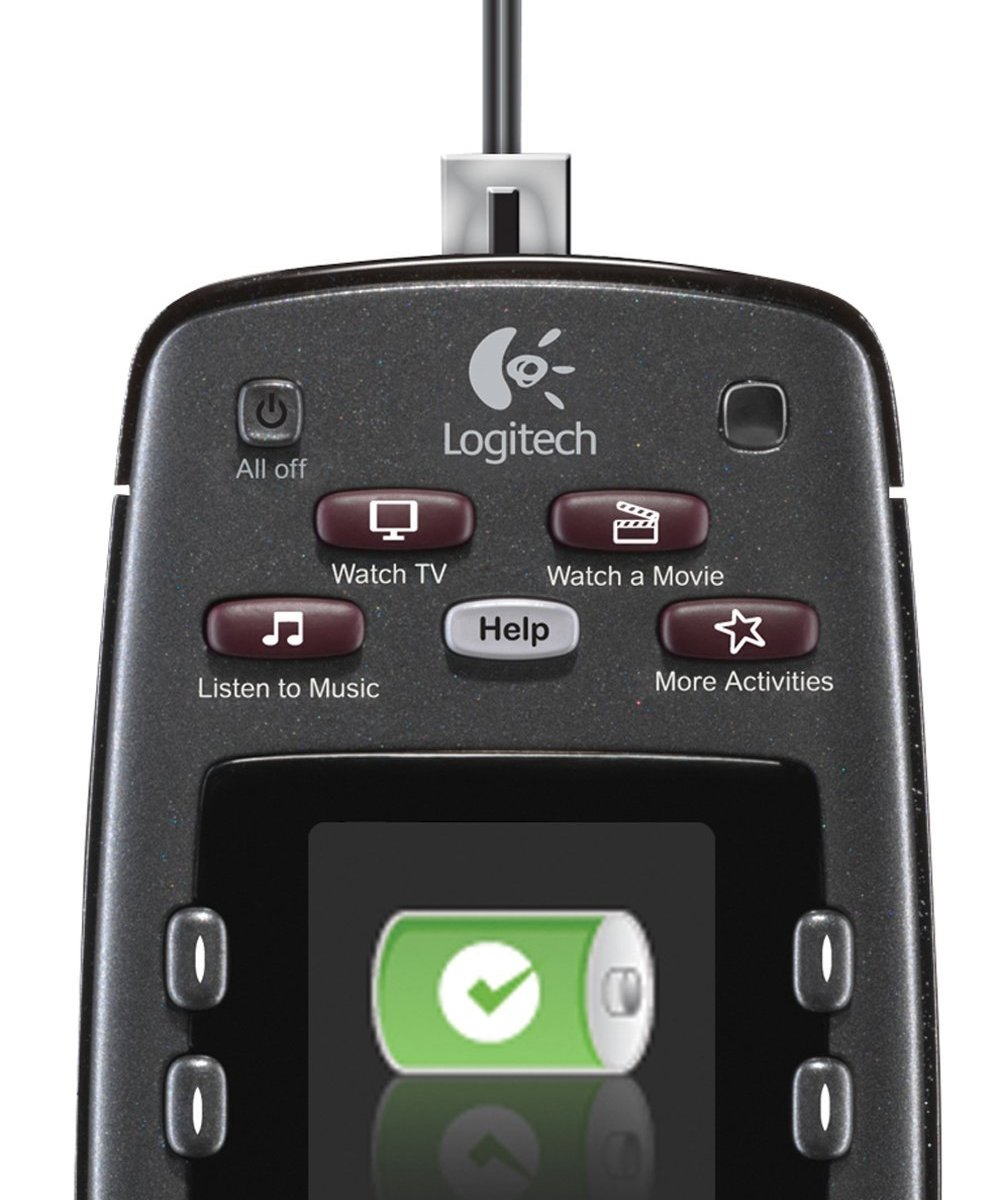 DETAIL of the Logitech Harmony 700 Universal Remote