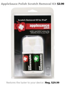 AppleSauce Polish Scratch Removal Kit for $3.99 (reg. $29.99)