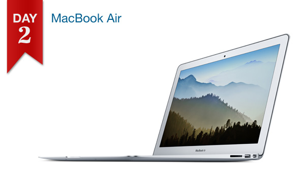 Connecting Point's 12 DAYS OF SAVINGS DAY 2 - MacBook Air 11.6-Inch $799.99 ($100 off)