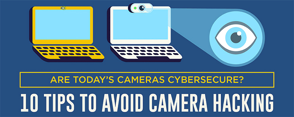 cameras cybersecure cybersecurity webcams privacy protection Connecting Point Medford OR