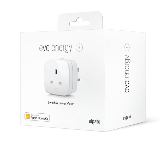 Elgato Eve Energy switch power meter smarthome HomeKit
