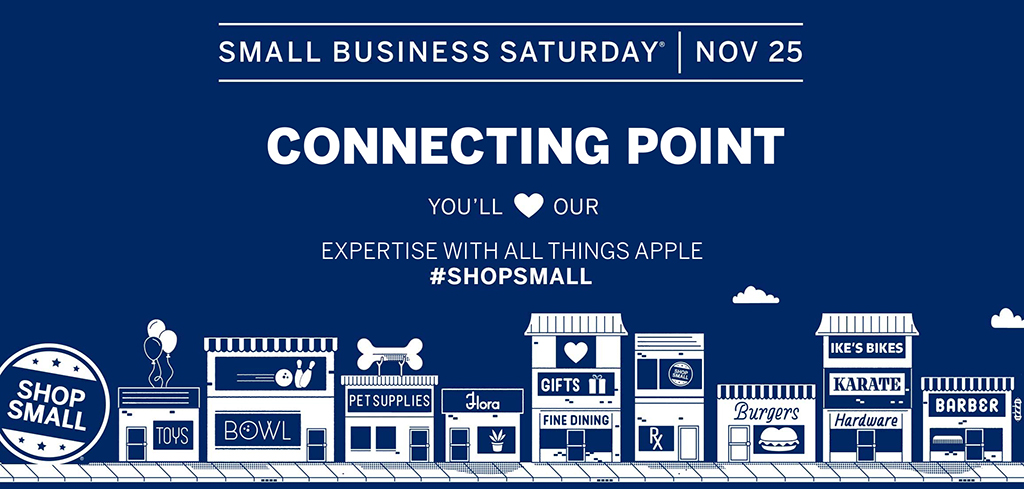 Shop Small: Celebrate Small Business Saturday with us (Nov. 25th)