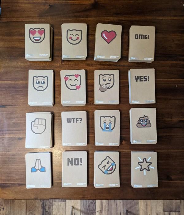 Emoji Cards Full Deck