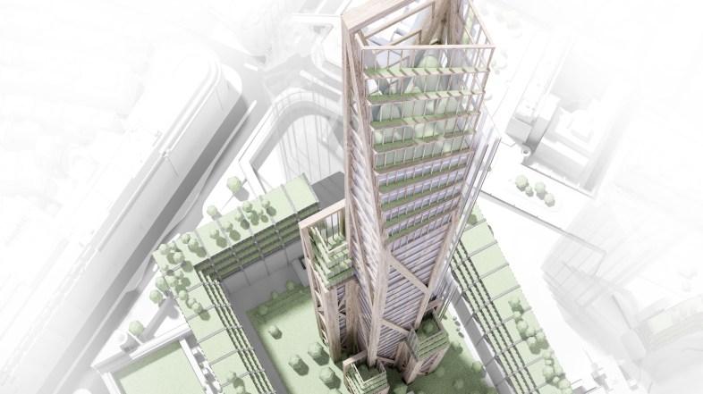 Así será el rascacielos de madera más alto del mundo