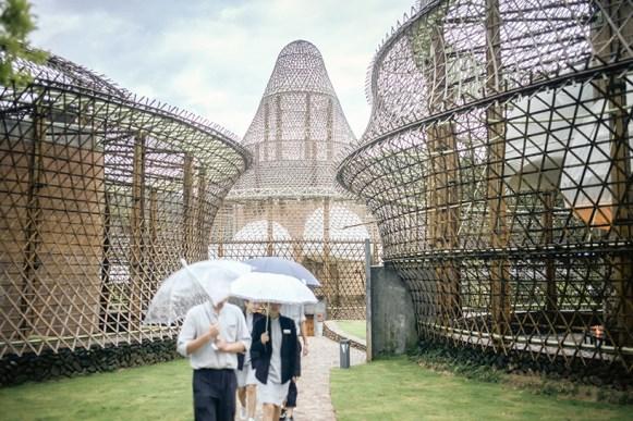 Photo : Julien Lanoo, Bamboo Biennal