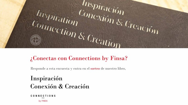 ¿Conectas con Connections by Finsa?