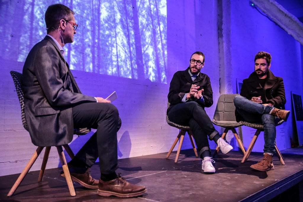 Sebas Cangiano y Pablo Juncadella se encargaron del storytelling 'Inspiración, Conexión & Creación'