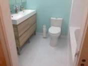 toilet instalation