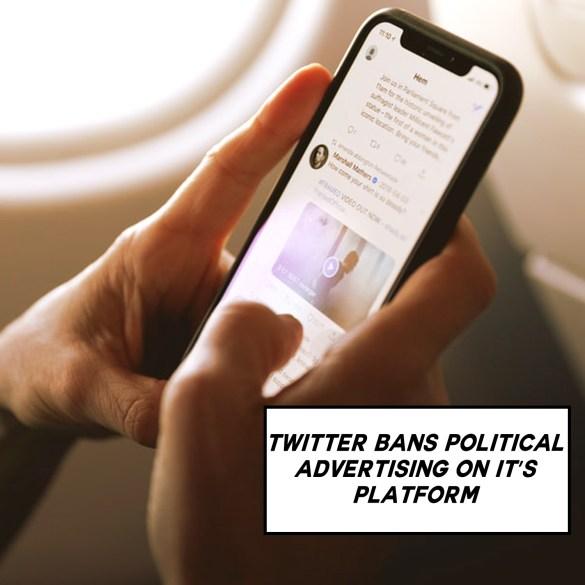 Twitter bans politics