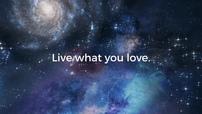 Live what you love spiritual awakening