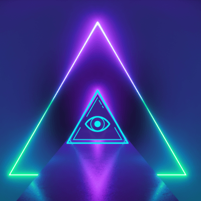 How to get more customers for a spiritual business featuring a third eye in a triangle