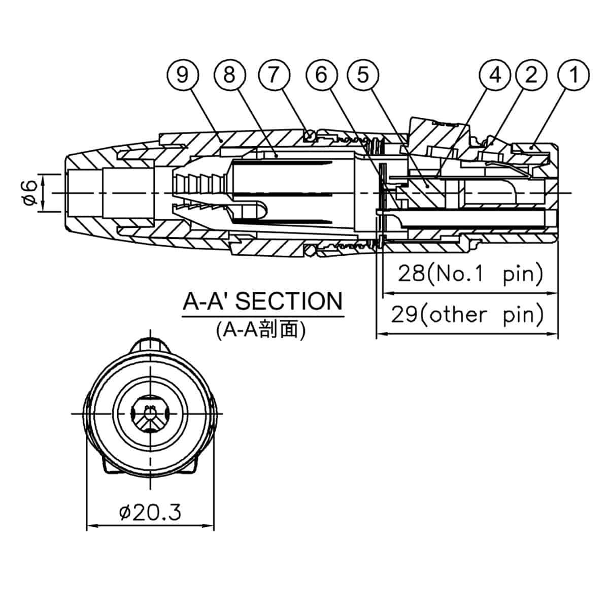 Enova Xlr Kabelbuchse 3 Pol