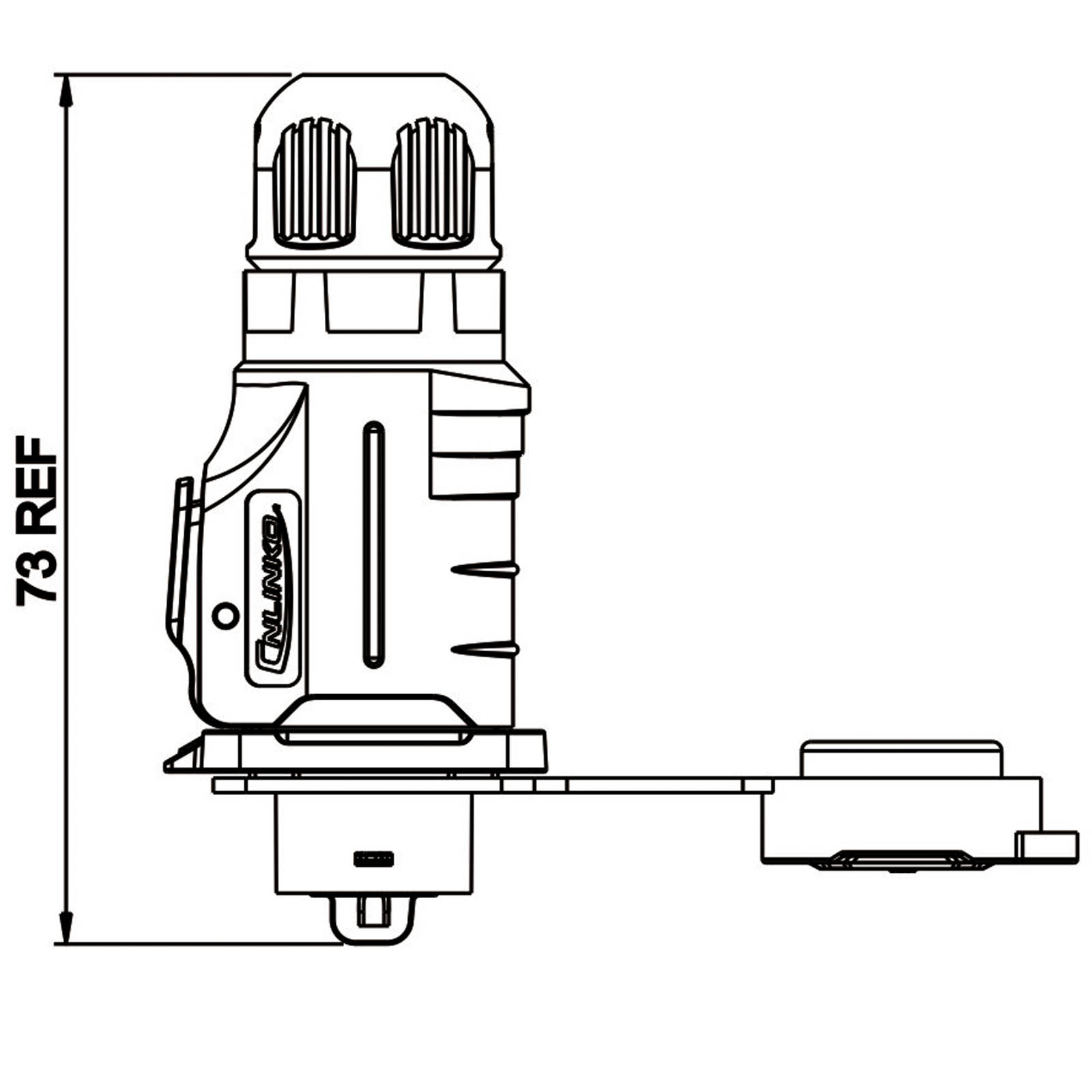Cnlinko Lp 16 Serie Power Kabelstecker
