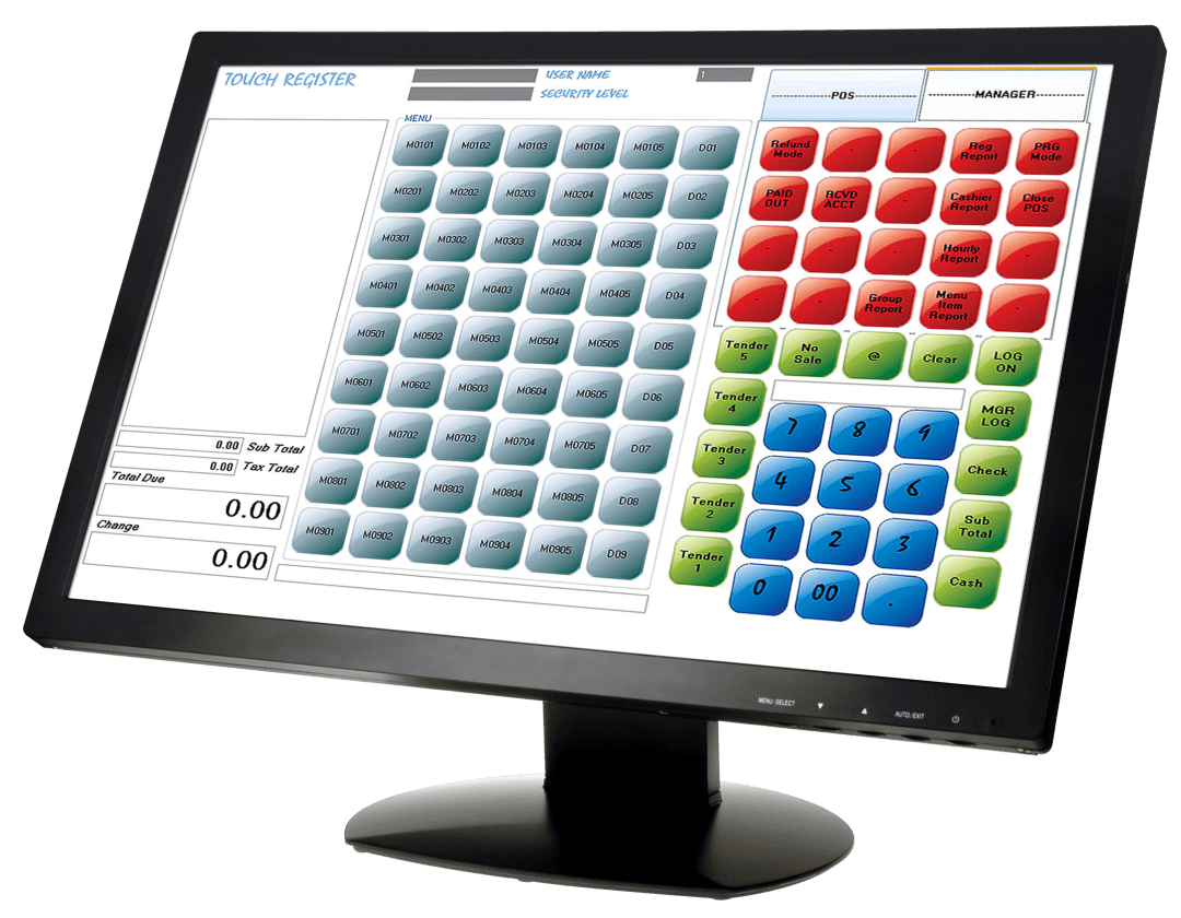 22 Inch Touch-Screen Monitor