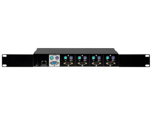 Back view of PR-14 with rackmount on