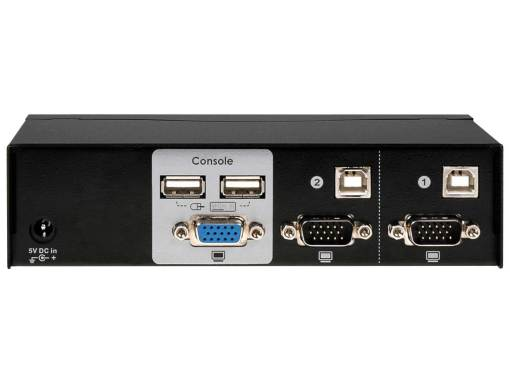 UR-12 a two port USB VGA KVM swtich