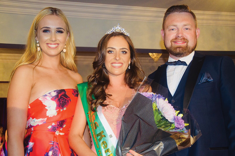 The Newly-Crowned Miss Kerry Brógan O'Sullivan
