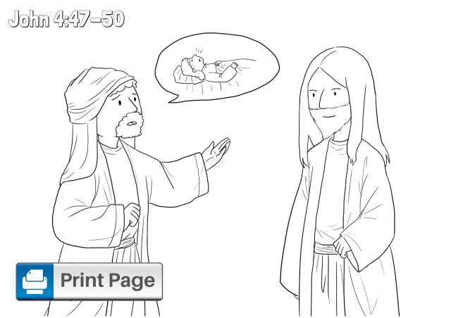Free Printable Jesus Heals Coloring Pages for Kids – ConnectUS