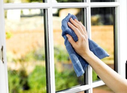 vinegar window cleaning