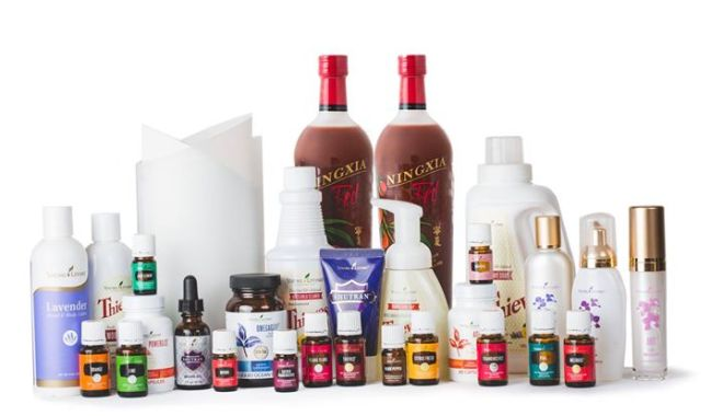 young living essential oils product line