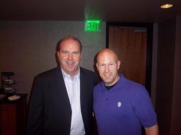 With Bill Walsh at a Network Phoenix Signature Event