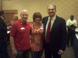 Bob Burg, author of The Go-Giver, and Lisa...two of my all-time favorite people. :D