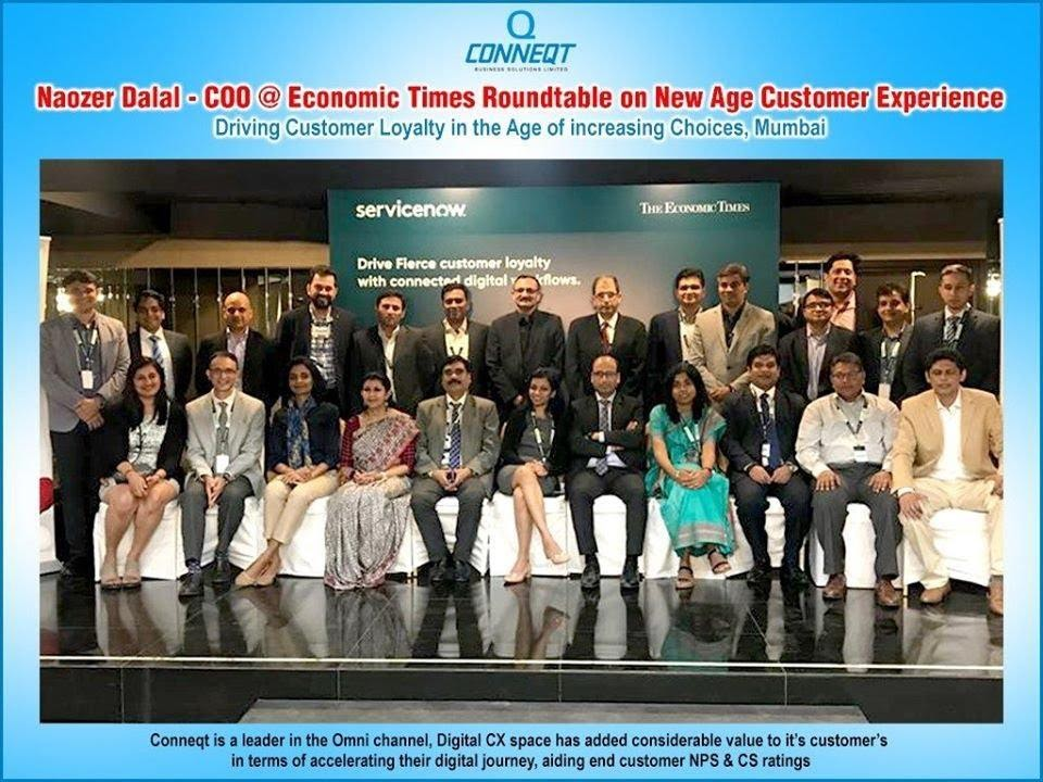 Economic Times roundtable on New Age Customer Experience