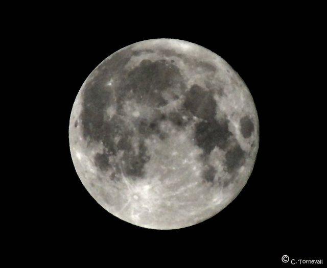 Månen extra stor