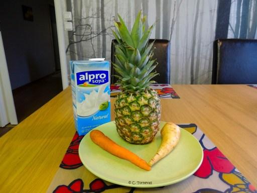 Sidan 120 Super shakey Ananas palsternacka morot sojamjölk