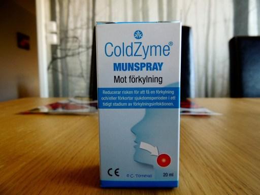 08 Mat förkylningsspray utan socker och tillsatser