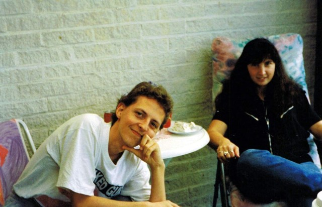 Annelie 1992 och Tomas FB