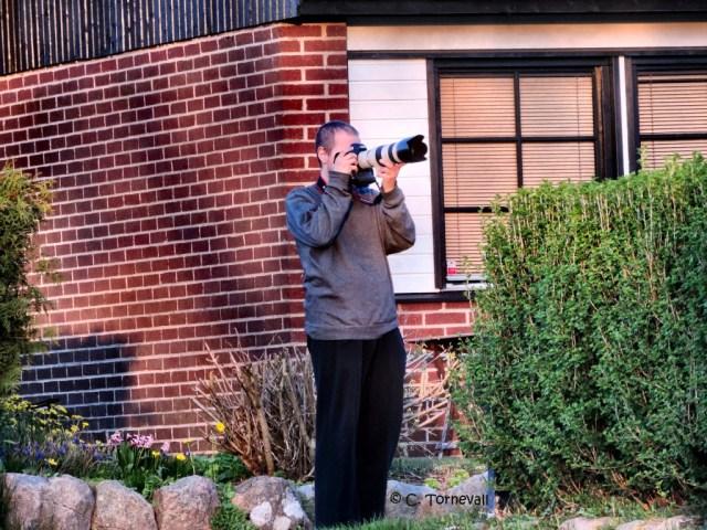 Kamera Tomas med den vita kameran