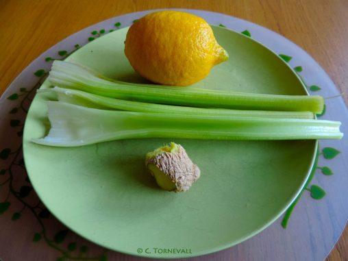 Sellerideyck selleri citron och ingefära