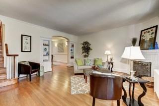 Living Room of 3850 Calvert St. NW